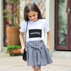 Cheap t-shirts for girls, Buy Quality t-shirt for girl kids directly from China tops for girls Suppliers: 2016 Summer Organic Cotton T-shirts for Girls 5 6 7 8 9 10 11 12 13 14 T Years Old Teenagers Kids Clothes For Girls Sports Top Cute Spring Outfits, Girls Summer Outfits, Cute Girl Outfits, Cute Outfits For Kids, Outfits For Teens, Cute Clothes For Girls, Summer Clothes, Cute Stuff For Girls, Ladies Clothes