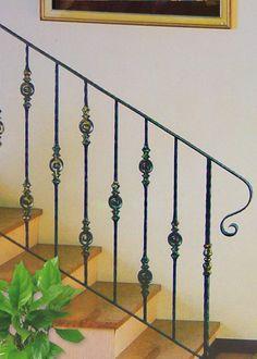 barandillas de escaleras de hierro - Buscar con Google