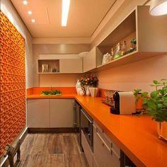 Cor na cozinha!