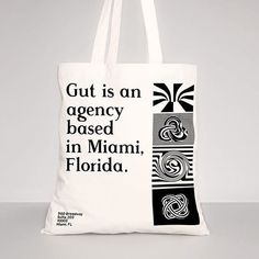 Bold and beautiful brand identity for @gutagency in Miami and Buenos Aires, by @sagmeisterwalsh Sagmeister & Walsh.