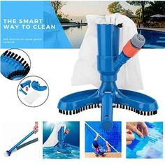 US$ 58.89 - Swimming Pool Vacuum Cleaner - m.cccinlife.com Pool Leaf Vacuum, Swimming Pool Vacuum Cleaner, Piscina Intex, Portable Swimming Pools, Small Swimming Pools, Pool Spa, Large Fish Tanks, Hot Tub Accessories, Pond Fountains