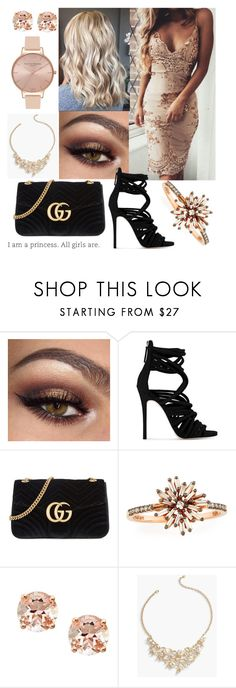 """#27"" by mariangela06 ❤ liked on Polyvore featuring Giuseppe Zanotti, Gucci, Suzanne Kalan, Anika and August, Talbots and Olivia Burton"