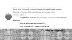 Apresentação Ana Rita Amado (Leça da Palmeira)