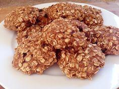 Recept na cookies bez cukru - DIETA.CZ Low Carb Recipes, Dog Food Recipes, Healthy Recipes, Healthy Sweets, Healthy Food, Muesli, Sugar Free, Almond, Stuffed Mushrooms