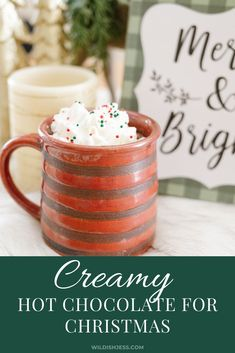 Though I love a nifty new spin, I'm a sucker for the creamy hot chocolate of my childhood. Keto Friendly Desserts, Low Carb Desserts, Low Carb Recipes, Dessert Recipes, Cookie Recipes, Paleo Crockpot Recipes, Crockpot Ideas, Dairy Free Diet, Valentines Day Desserts