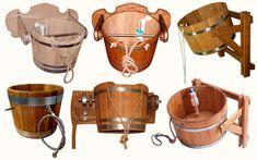 Обливные устройства для бани и сауны