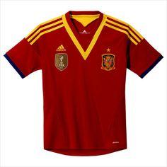 Men's 2013 Spain Red Home Soccer Jersey Camisetas de Fútbol 820103337403 on eBid United States