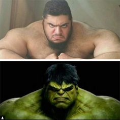 En Iran existe un  Hulk,  capaz de levantar un elefante