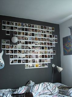 10 Cute Photo Decor Ideas for Your Dorm | http://www.hercampus.com/life/campus-life/10-cute-photo-decor-ideas-your-dorm