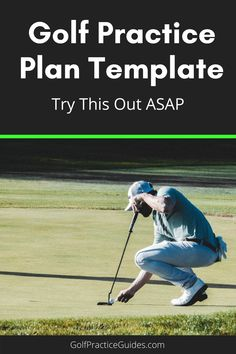 Don't stress about what golf drills to do each practice. Start with the proven plan as a template and check out our best practice plans on FoyGolfAcademy.com #golf #golfing #golfpractice
