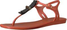 Melissa Shoes Women's Solar + Jason Wu Red/Orange Shoe