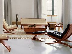 From Thos. Moser, the Vita Seating Collection is like mid-century/classic mashup.