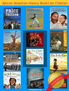 http://www.kentonlibrary.org/2014/we-shall-overcome  African American History Books for Children
