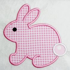 Easter Bunny Machine Embroidery Applique by SimplySweetEmbroider, $4.00