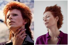 'Tilda Stardust' Tumblr Confirms Suspicions That Tilda Swinton and David Bowie Are the Same Person. The secret's out. Tilda Swinton is the second coming of David Bowie. No longer can the actress go on masquerading as a person that just happens to l