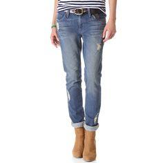 Rank & Style - James Jeans Neo Beau Boyfriend Jeans #rankandstyle