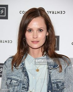 Charlotte de Carle attends the launch of Friendsfest wearing her Muru Ancient Coin Necklace in Gold. Gifts for her, jewellery, sterling silver.