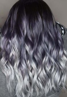 Gorgeous smokey grey ombre hair colors ideas and highlights to copy from here. Get these trendy and popular hair colors and learn how to wear this color step by step. These amazing trends are awesome for bold and fashionable women. You'll be really wonder by visiting these best smokey ombre hair colors for 2018.