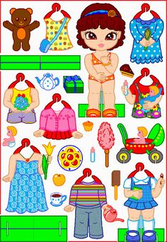 HOME DOLLS * 1500 free paper dolls from artist Arielle Gabriel The International Paper Doll Society for Pinterest paper doll pals *