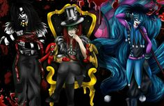 Laughing Jack, Candy Pop, Jason the Toy Maker; Creepypasta