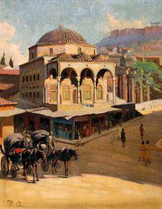 Χριστόφης Αλέξανδρος-Τζαμί Μοναστηράκι Πινακοθήκη Αθηνών – Municipal Art Gallery of Athens