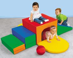 I'm thinking about this in the infant room...a substitute for the toddlers climber/loft...