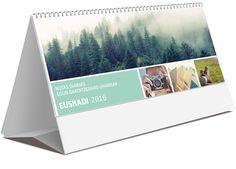 Calendario sobremesa Euskadi notas diarias