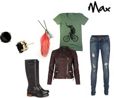 """""""Max (Maximum Ride)"""" by drocellcainz on Polyvore"""