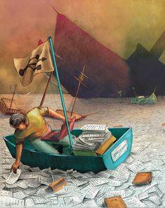 O cão que comeu o livro...: 5 ilustrações literárias de José Rosero / 5 litera...