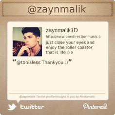 @zaynmalik's Twitter profile courtesy of @Pinstamatic (http://pinstamatic.com)