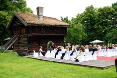 Outdoor ceremony, 30 minutes from Oslo