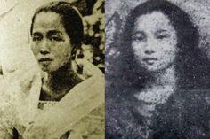 Felicidad Aguinaldo and Dolores Nable Jose, girlfriends of Gregorio Del Pilar
