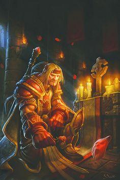 Commandor of the scarlet crusade