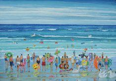 Los hinchables están de moda. Serie having fun – Belén Eizaguirre Alvear Painting, Color, Beaches, Art, Painting Art, Colour, Paintings, Painted Canvas, Drawings