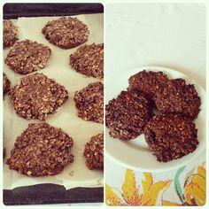 Choco-berries oat cookies