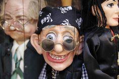 Marionette shops can be found throughout Prague, Austria  ©Steve Gillick