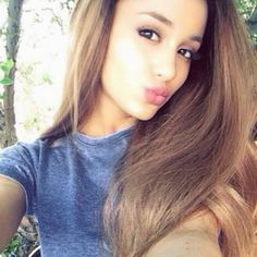 [USA] Ariana Grande dễ thương, nhí nhảnh ^ ^! - TruongTon.Net ❤ liked on Polyvore featuring ariana grande, ariana et people