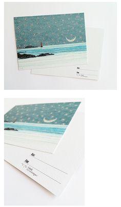 텐바이텐 10X10 : 손톱달 일러스트 엽서