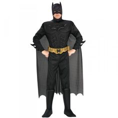We have Batman costumes for all sizes and in many styles. Become the Dark Knight of Gotham in our authentic Batman costumes this Halloween.  sc 1 st  Pinterest & Metallic Batman Costume 3-4 Years | Ideas for S | Pinterest | Batman ...