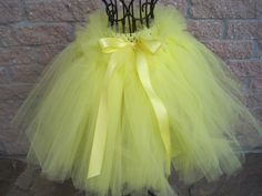 Tutu, LEMON DROPS, 14 inches long, 18-20 inch, waistband, for toddlers | ElsaSieron - Clothing on ArtFire