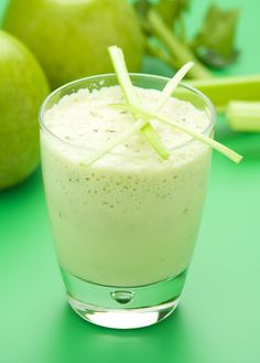Apple, Celery & Lime Dairy Drink