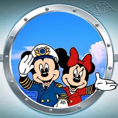 Mickey Minnie Porthole