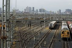 Railway lines leading into Durban | Flickr - Photo Sharing!