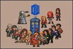 Doctor Who gang (02/2014) by Jelizaveta on DeviantArt