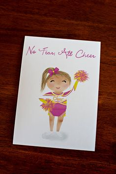 No Fear All Cheer...Little by SweetCheeksImages on Etsy