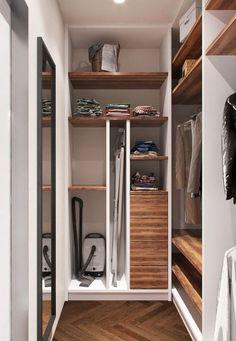 Wardrobe Room, Black Rooms, Walk In Closet, Room Organization, My Room, Home Art, Tall Cabinet Storage, My House, House Design