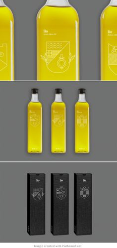 #Package #design of Lio olive oil | by Confederation Studio