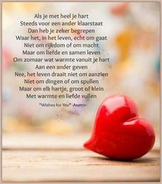 """""""Als je met heel je hart steeds voor een ander klaarstaat....."""""""