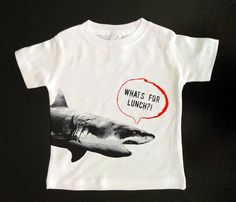 What's for Lunch Shark Kid's T-Shirt Uncovet