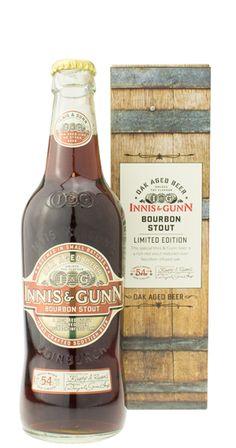 Innis & Gunn - Bourbon Stout - Red stout matured over bourbon-infused oak